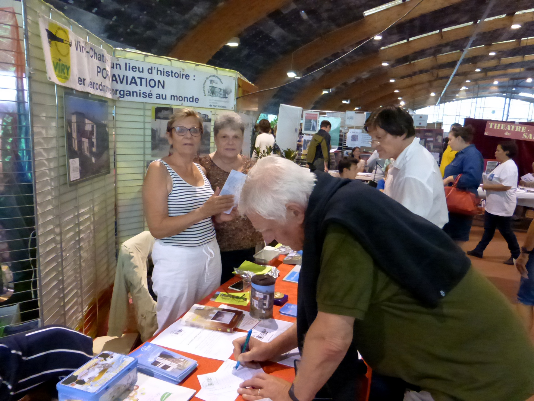 Viry-Chatillon, stand Port-Aviation,